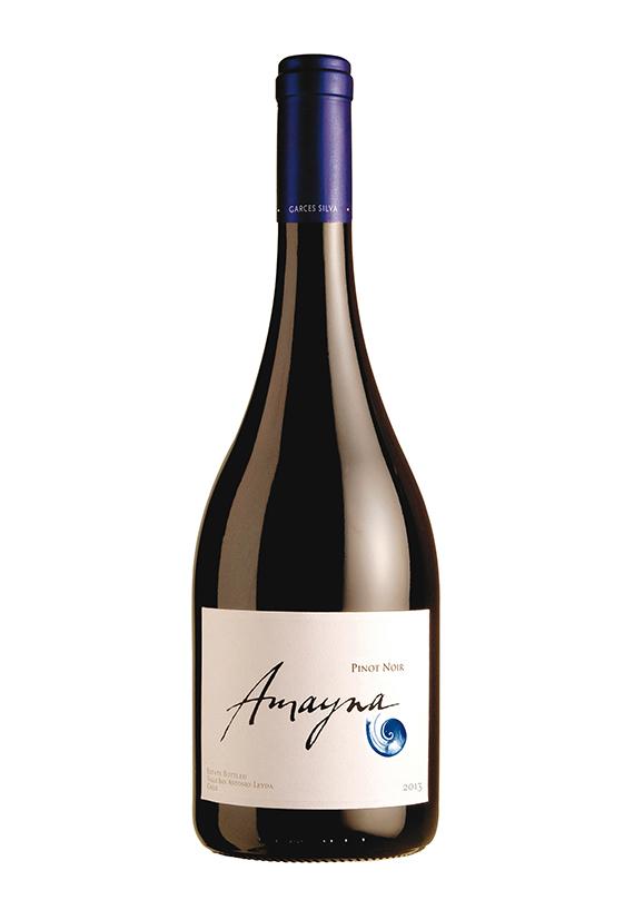 Caja de Madera Amayna Pinot Noir 2017 | caja de 6