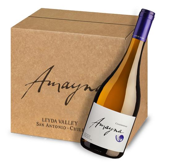 Amayna Chardonnay 2018   Caja 6 bot.