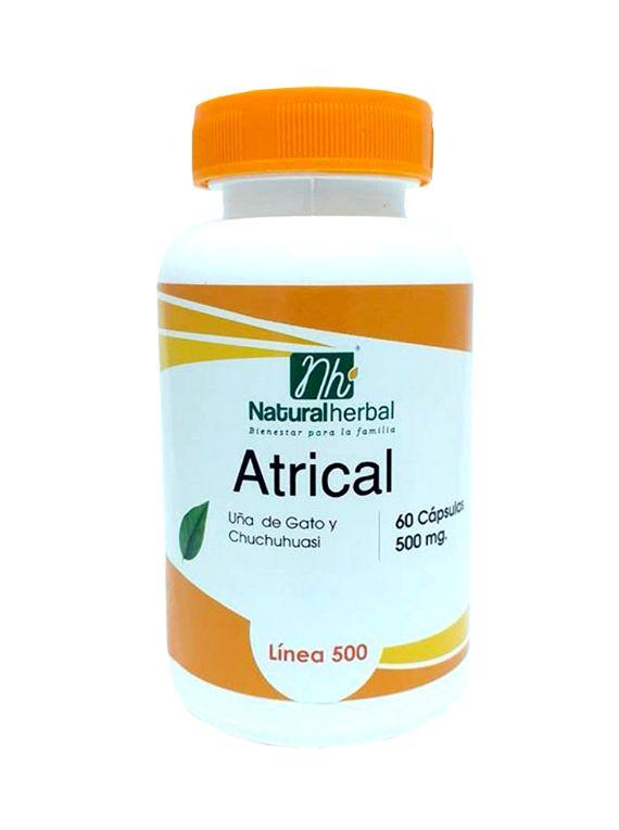 Atrical - 60 Cápsulas - 500 mg