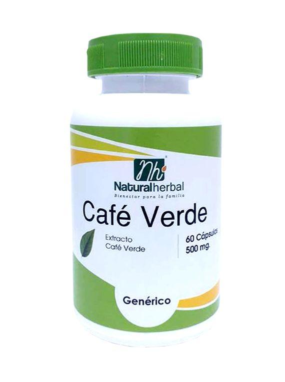 Café Verde - 60 Cápsulas  500 mg