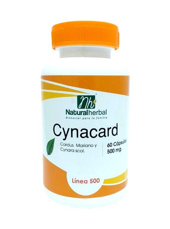 Cynacard - 60 Cápsulas 500 mg.