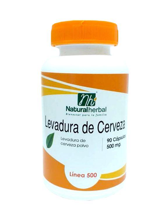 Levadura Cerveza - 90 Cápsulas  500 mg
