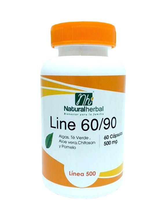 Line 60/90 - 60 Cápsulas 500 mg.