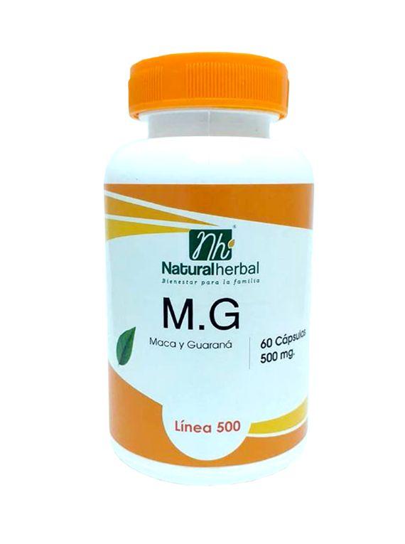 MG - 60 Cápsulas 500 mg.