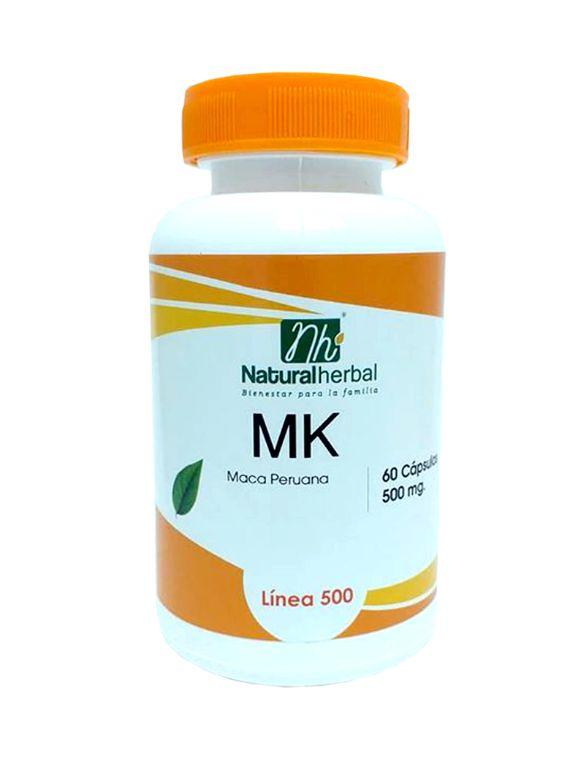 MK 500 - 60 Cápsulas 500 mg.