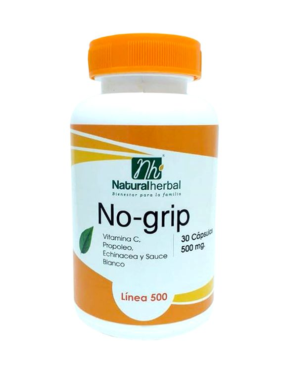 NO-grip - 30 Cápsulas 500 mg.
