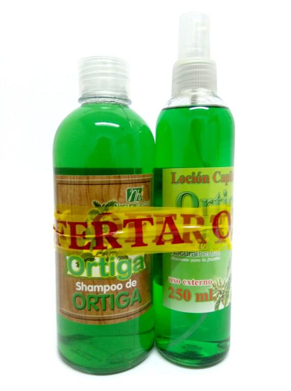 Pack Ortiga (Loción & Shampoo) - 250/400 ml.