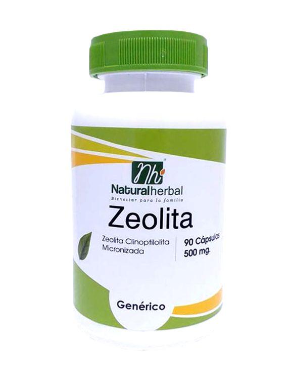 Zeolita - 90 Cápsulas 500 mg.