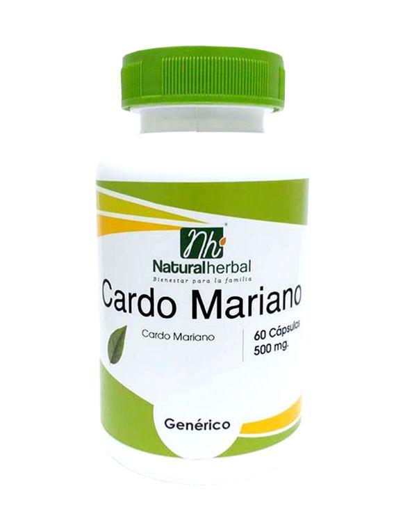 Cardo Mariano - 60 Cápsulas 500 mg.