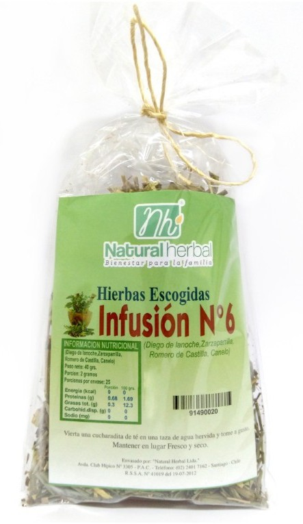 Infusion n°6 - 40 gr.