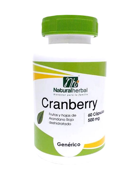 Cranberry - 60 Cápsulas 500 mg