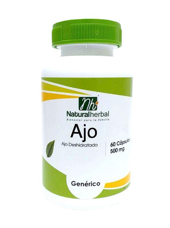 Ajo  - 60 Cápsulas 500 mg.