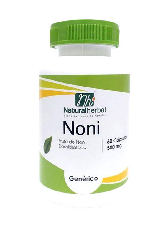 Noni - 60 Cápsulas 500 mg.