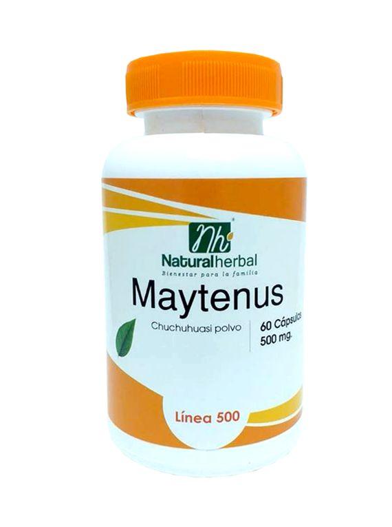 Maytenus (Chuchuhuasi) - 60 Cápsulas 500 mg.