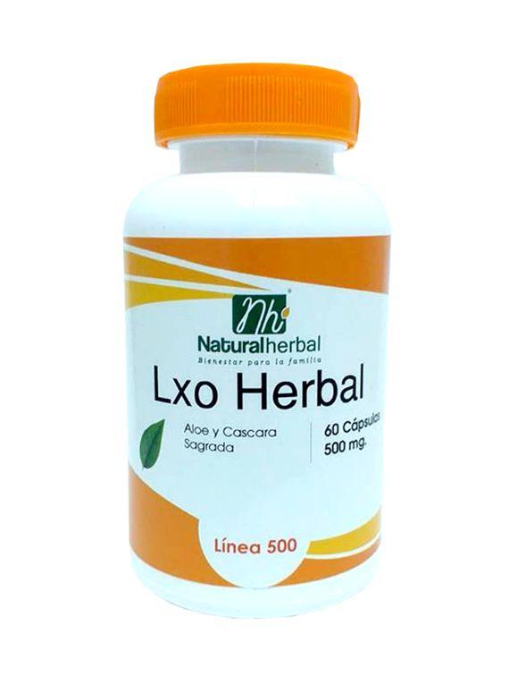 Lxo Herbal - 60 Cápsulas 500 mg.