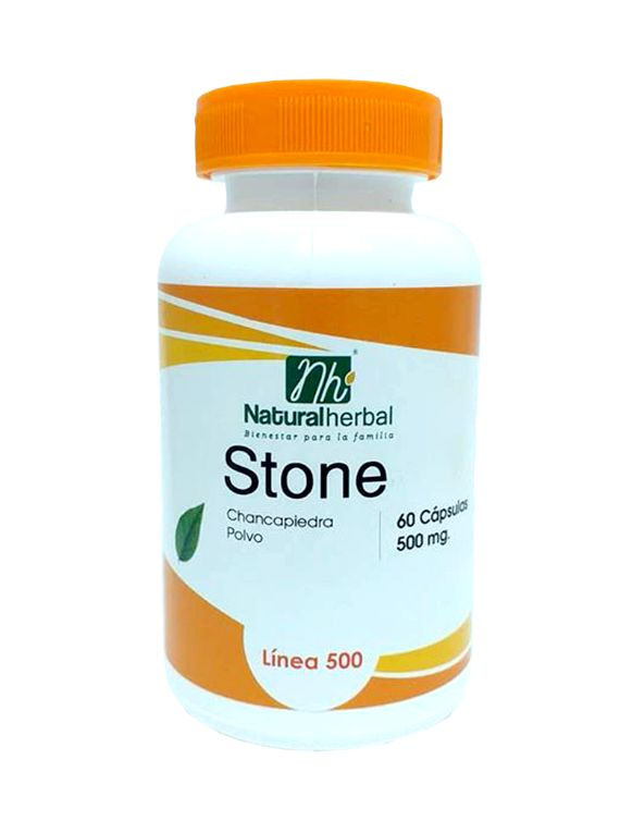 Stone 500 -  60 Cápsulas 500 mg.