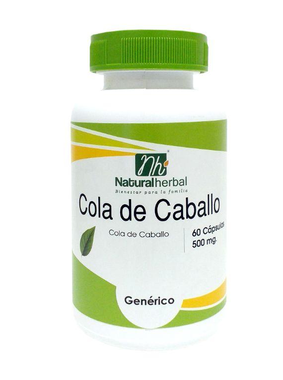 Cola de Caballo - 60 Cápsulas 500 mg.