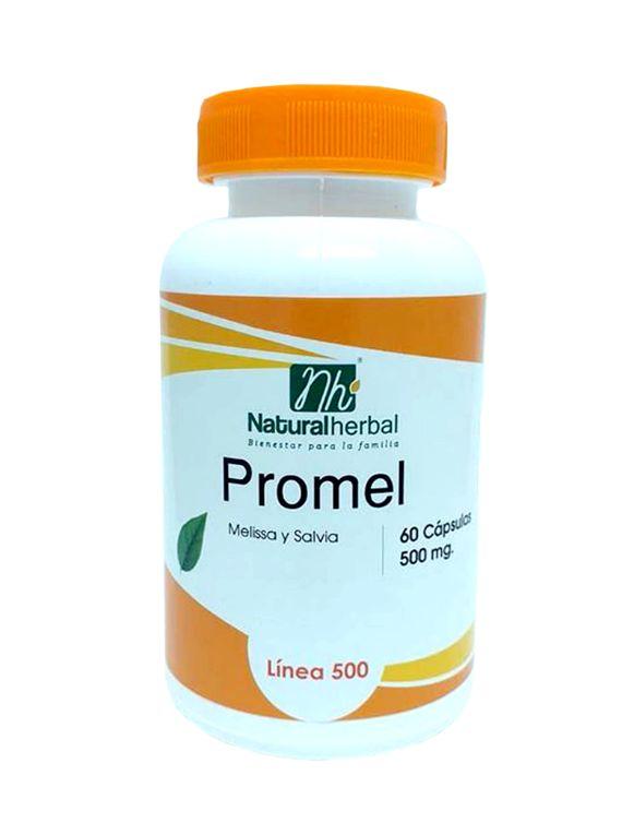 Promel - 60 Cápsulas 500 mg.