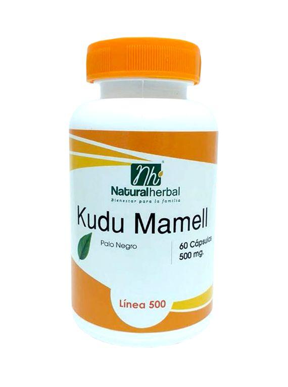 Kudu Mamell 60 Cápsulas 500 mg.
