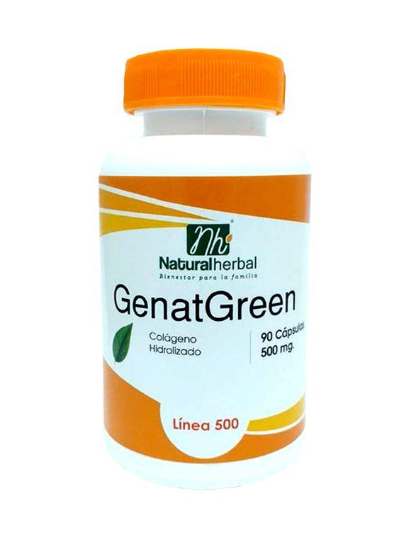 Genat Green 90 Cápsulas - 500 mg