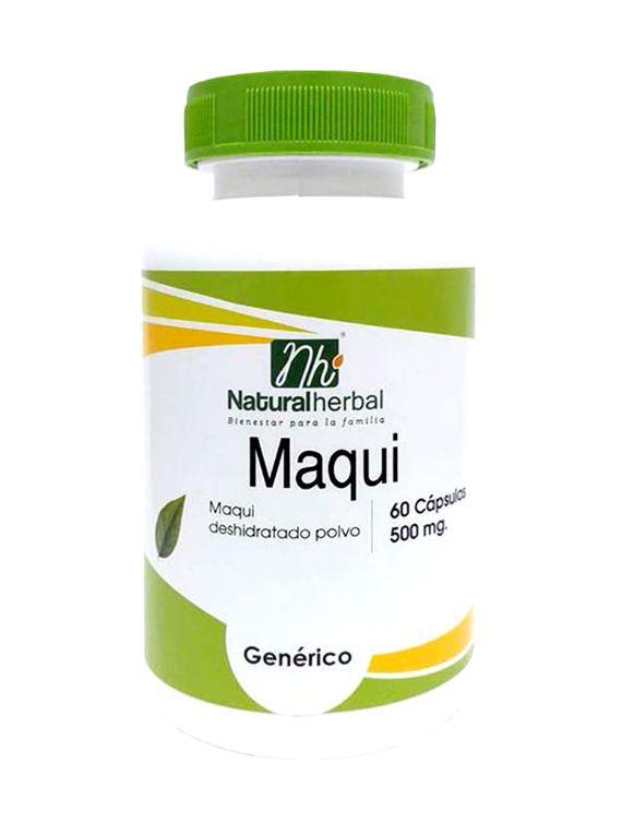 Maqui - 500 mg x 60 capsulas.
