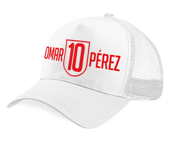 Gorra malla - Omar 10 Pérez