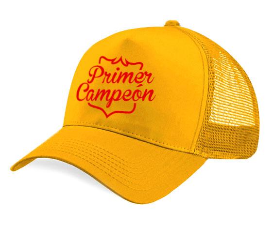 Gorra malla - Primer campeón