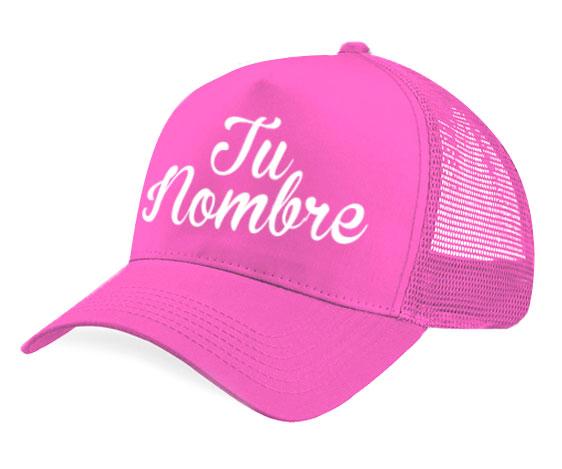 Gorra malla - Personalizada