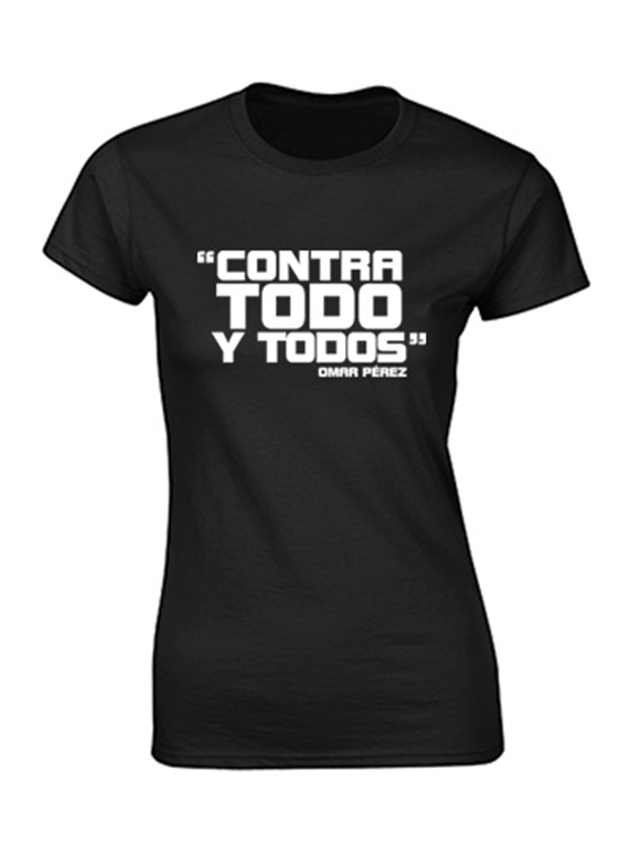 Camiseta mujer - Contra todo y todos