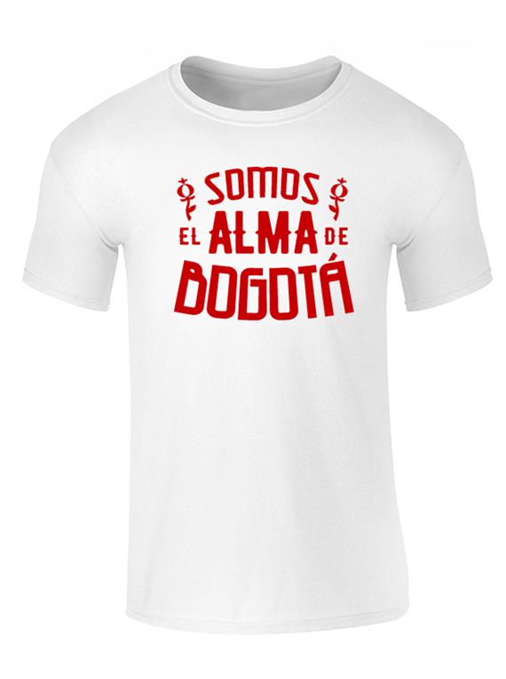 Camiseta hombre - Alma de Bogotá