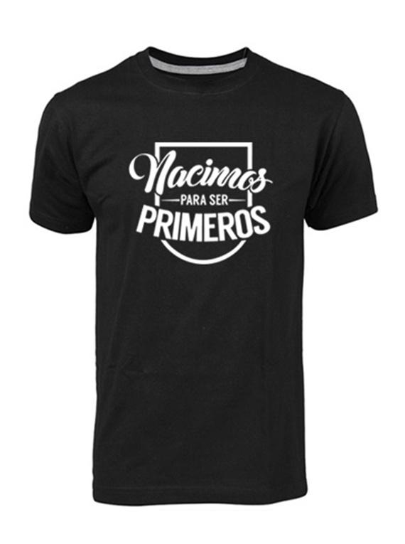 Camiseta hombre - Nacimos para ser primeros