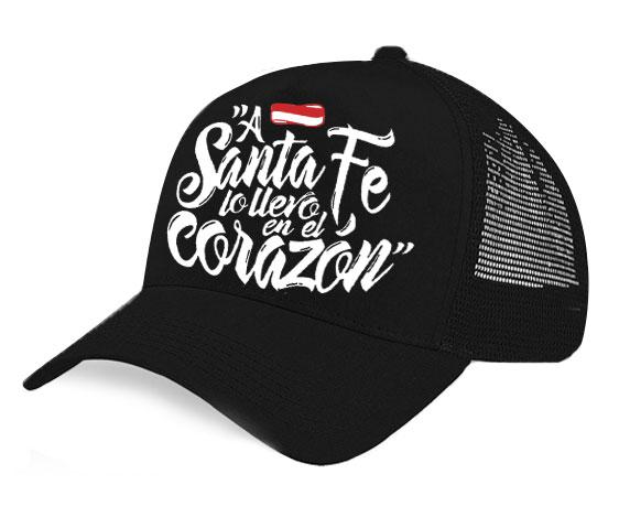Gorra Leoncitos - A Santa Fe lo llevo en el corazón