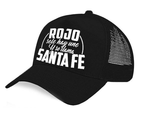 Gorra malla - Rojo solo hay uno y se llama Santa Fe