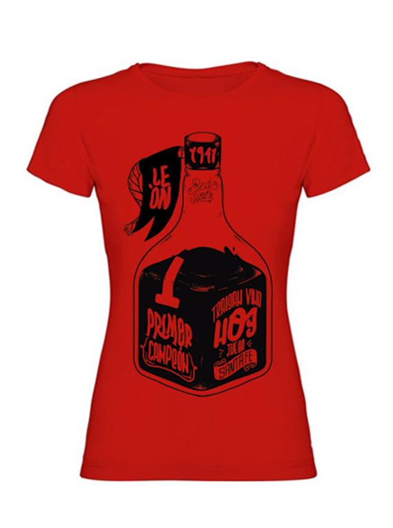 Cam. Mujer - Roja - Traigan vino