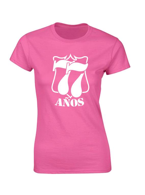 Camiseta mujer - esc 77 años