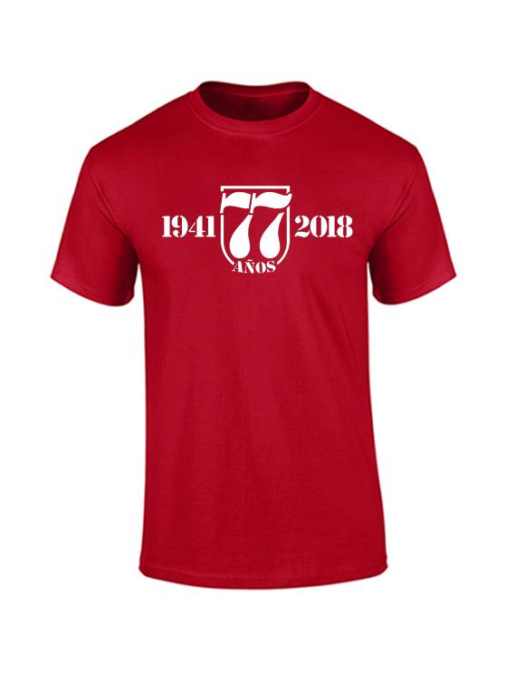 Camiseta hombre - 1941 2018 77 años