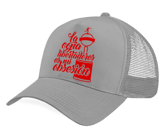 Gorra malla - La copa libertadores es mi obsesión