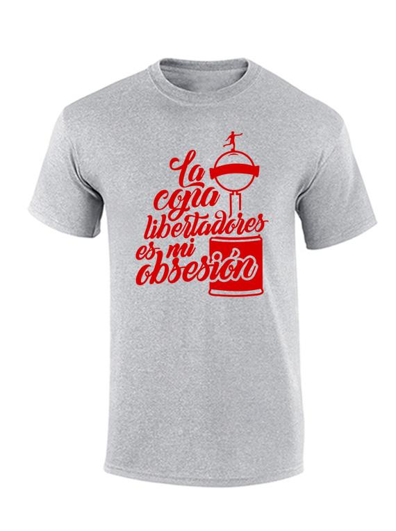 Camiseta hombre - Libertadores mi obsesión