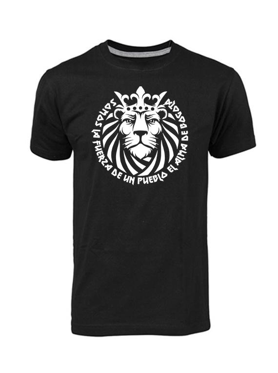 Camiseta hombre - León fuerza de un pueblo