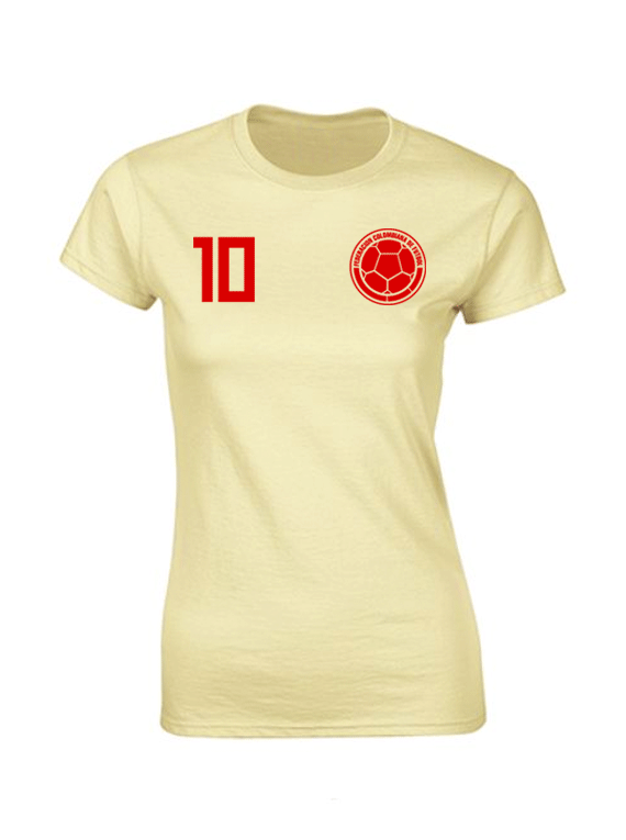 Camiseta mujer - 10 Colombia