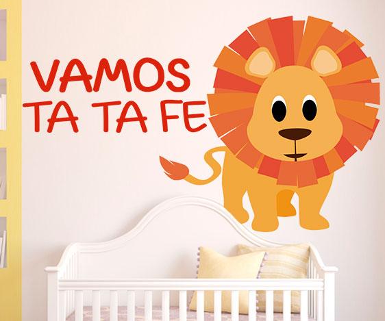 Impresión decorativa - Vamos Ta Ta Fe 50X60 cm