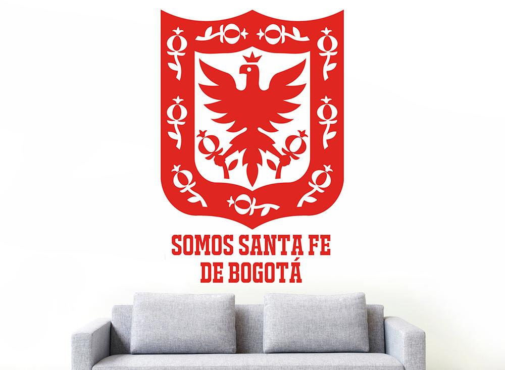 Impresión decorativa - Bogotá 100X60 cm