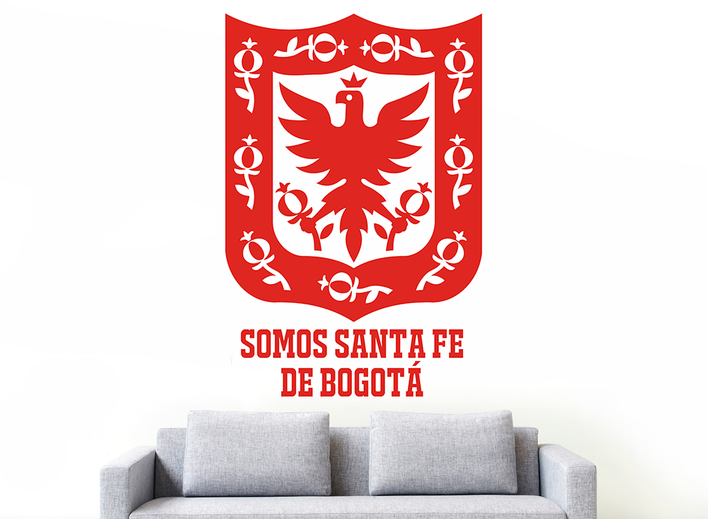 Impresión decorativa - Bogotá 50X60 cm