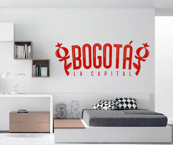 Impresión decorativa - BTA la capital 50X60 cm