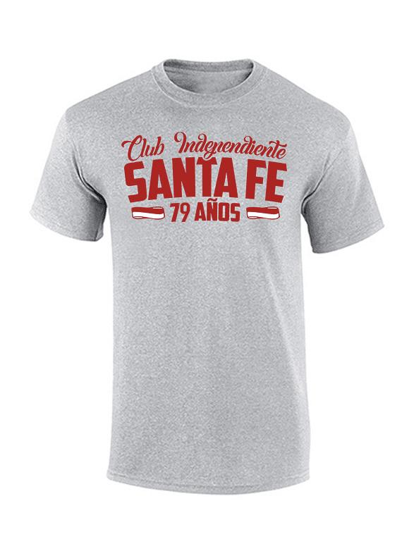 Camiseta - Club Ind Santa Fe 79 años