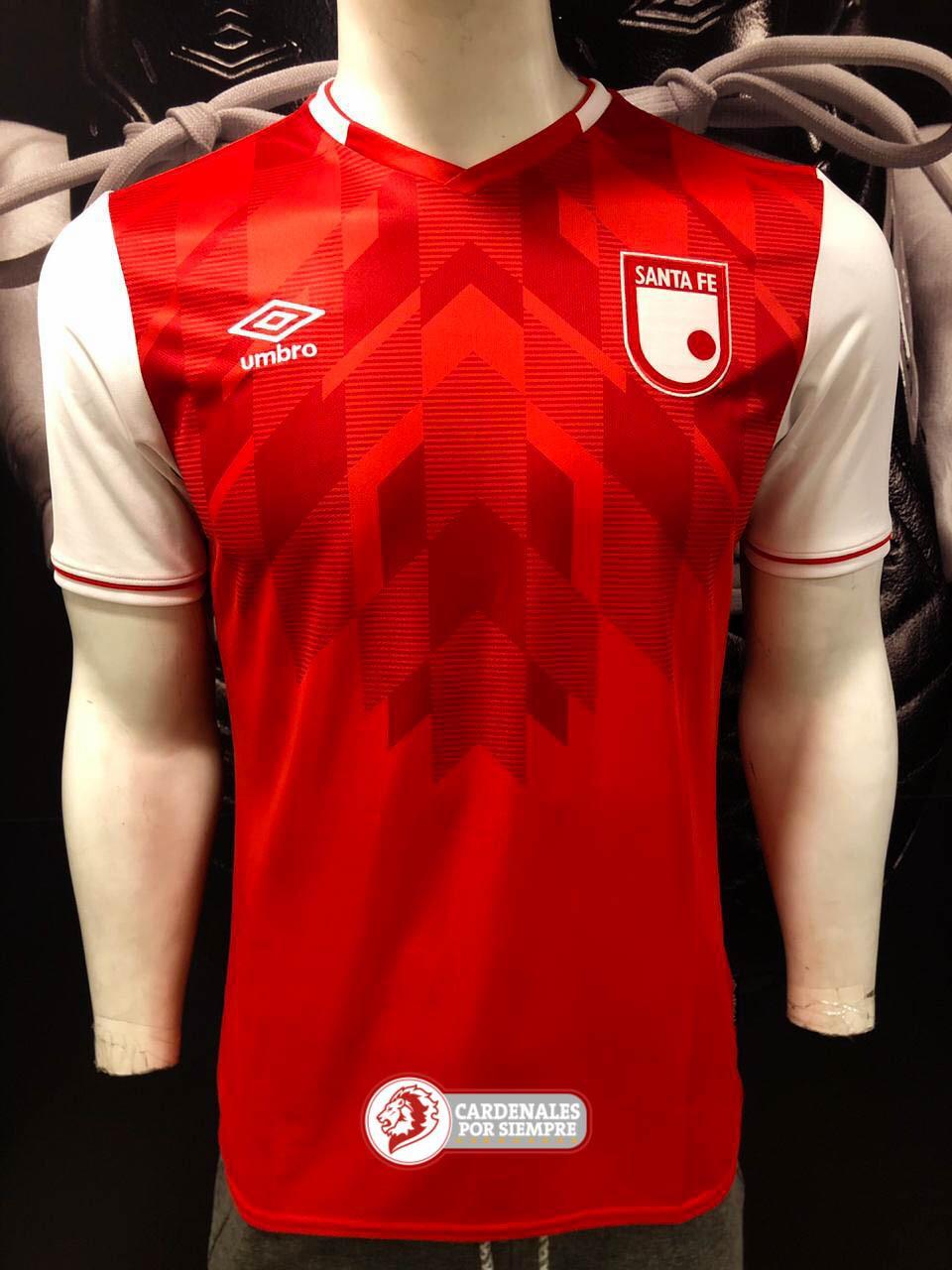 Camiseta Santa Fe - Umbro 2020 - Roja