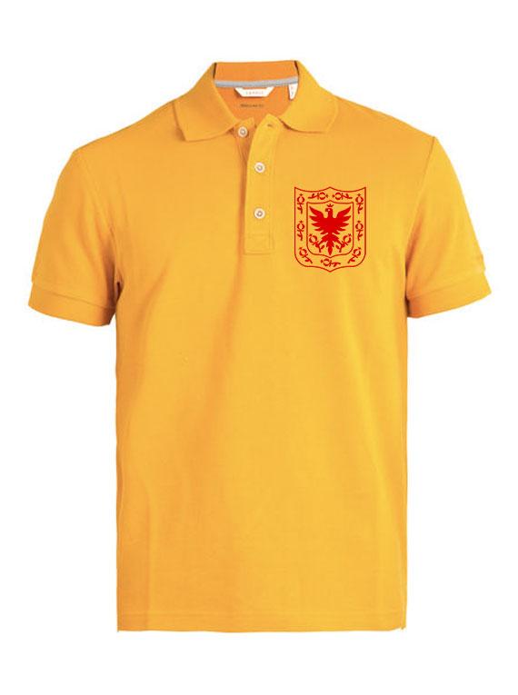 Polo de Hombre Talla L Amarilla - Esc Bogota