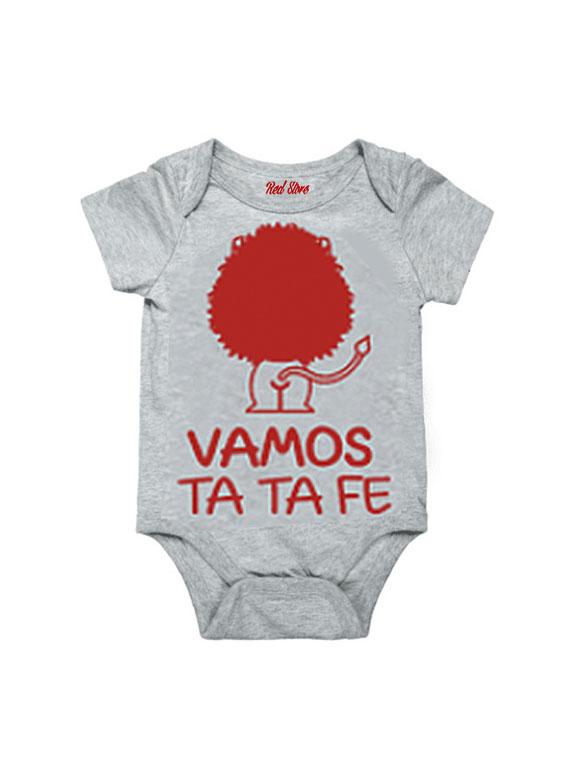 Body Gris Talla 0-6 meses - Vamos Ta Ta Fe