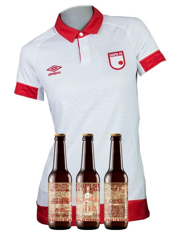 Camiseta 2019 - Mujer - Blanca - Talla M (+ 3 cervezas)