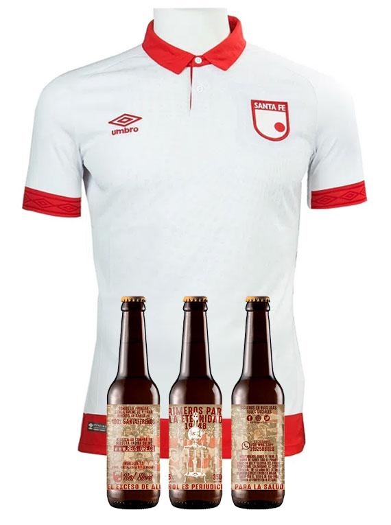 Camiseta 2019 - Hombre - Blanca - Talla XL (+ 3 cervezas)